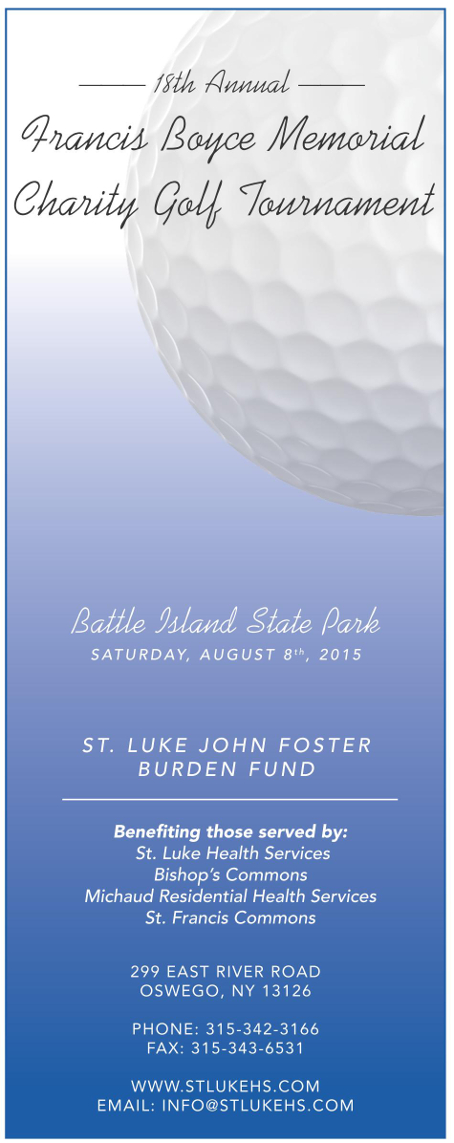 18th Annual Boyce Memorial Golf Tournament Aug 8th website
