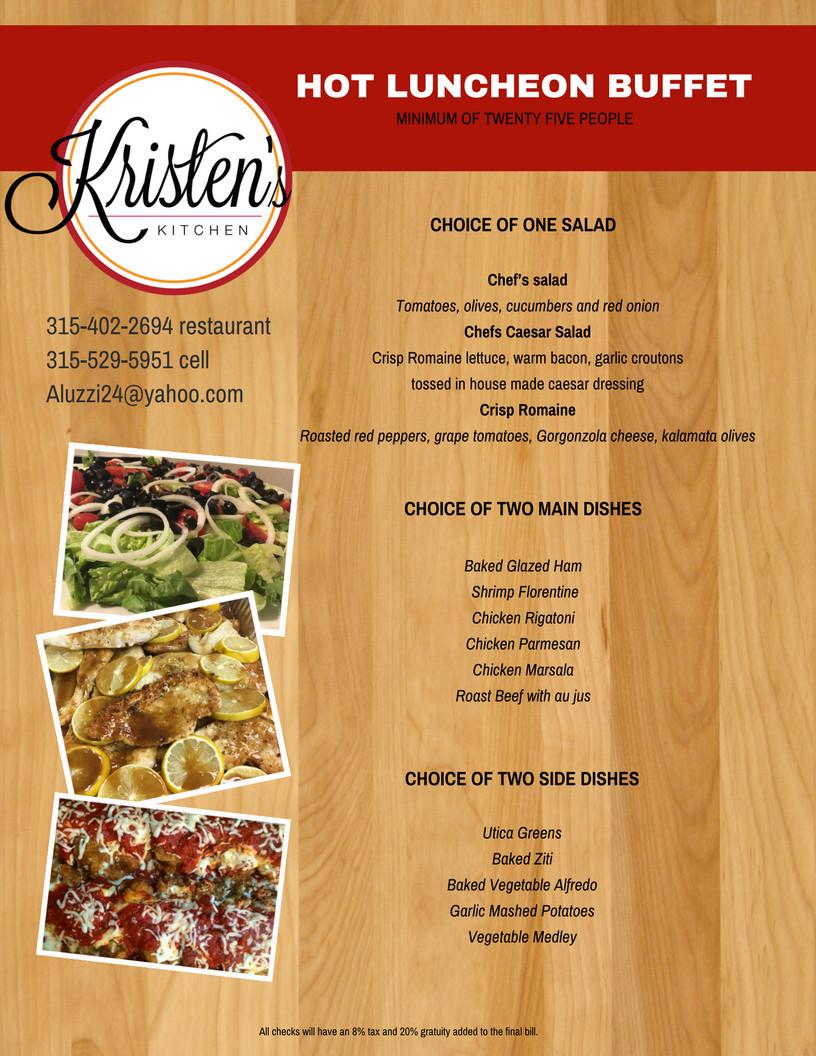 Hot Buffet Food Recipes